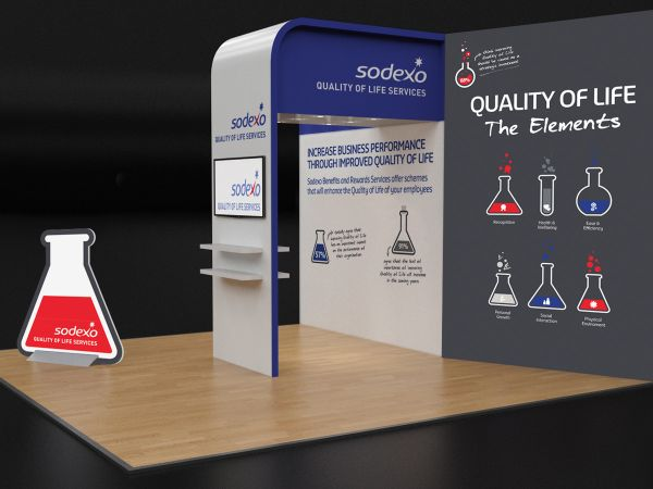 Exhibition Stands Oxfordshire : Exhibition stands and pull up banners